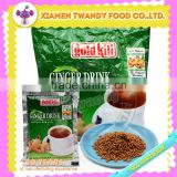 Gold kili flavoured instant healthy powder ginger drink