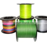 colorful nylon braided fishing line
