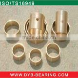 used for electric tools textiles machinery automobile industry,copper alloy material oil sintered bush bronze bushing FU bearing