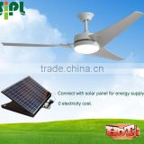Vent tool 60 inch 30 watt domestic solar panel powered solar ceiling fan