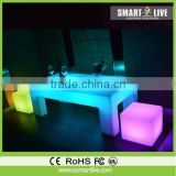 Unique Design Wholesale Comfortable LED Patio Bar Height Table And Chairs