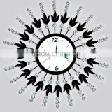 Starburst Decorative Metal Wall Clock/Buy Metal Wall Clock