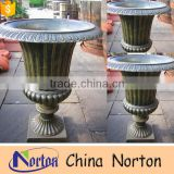 large garden brass flower pot for sale NTBF-FL131S