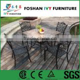 Patio used restaurant balcony outdoor furniture dining table chair set