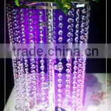 large crystal flower stand for event in many style