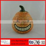 Hot Sale Newest Ceramic Pumpkin Sugar Pot