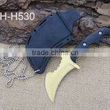 2015 new design hunting knife