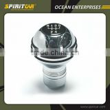 Aluminium Alloy Chromed Finishing Shift Gear Knob for Toyota