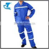 Hottest Two Piece Coverall Acid Resistant With Reflective Tape
