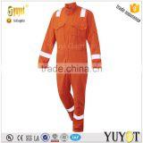 Manufacture 100%Cotton Fire Resistant Workwear European Coverall for Oil and Gas Industry