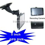 Navigation,Recording Driving,5 inch GPS Car Black Box DVR