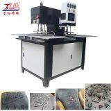 Moire logo embossing machine