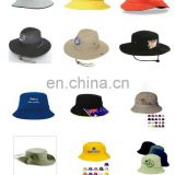 Bucket Hat 100% Brushed Cotton and Cotton Twill
