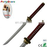 China Suppliers Decorative Katana Samurai Japanese Kids Toy Ninja Sword LARPGEARS Weapon for Cosplay