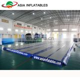 Gym rubber floor mat for gymnastics / inflatable gym floor mat for school sports