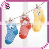 Children Cute Colorful New Bow Cotton Socks