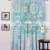 New Matrix Design Mandala Bedroom Balcony Home Decor 100%Cotton Window Curtains