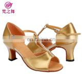 X-8010 American performance high heel latin dance shoes with size 34-41