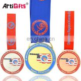 Usa Oklahoma Custom Metal Karate Medal Trophies Awards