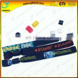 safe ID woven cloth kids wristband