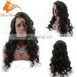 wholesale cheap human hair wigs body wave full lace wig with bangs alibaba lace wig china