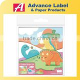 Stationery Gift Colourful Dinosaur Monster Robot Animal 3 Layers Memo note Die cut Memo Pad