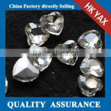 1204L China Manufacturer Glass heart shaped rhinestones,rhinestones heart shaped,shaped heart rhinestones