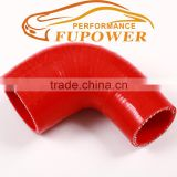 "2.5"" to 2.75"" inch 90 Degree Silicone Reducer Elbow Hose for Turbo intercooler /Heater/Radiator/Oil cooler Coupler red Hose pipe"