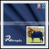 100% polyester horse rug woven fabric with PVC backing