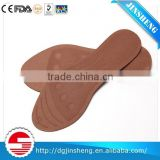 Hard and elastic plastic arch support