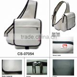 Newest fashion high quality hot sale items Trendy body bag white color polyester factory price