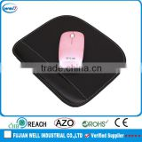 black wrist support mouse pad for office