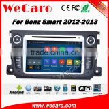 Wecaro WC-MB7506 android 5.1.1 car radio dvd player for benz smart Fortwo 2011-2014 car gps navigation system multimedia