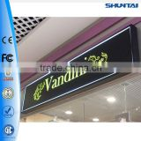 advertising LED backlit logo sign board