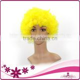 Brazilian football fans wig with wholesale price special for 2014 brazil world cup
