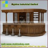lighting Events Circular Bar Furniture / Luxury Outdoor and indoor LED Bar Counter YM-LBT9080123 counter top salad bar