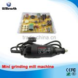 Mini grinding mill machine DIY electric hand drill machine mill manicure device Nail with 105 pcs Accessories