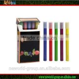 colorful disposable e hookah e shisha pen 5pcs one gift box