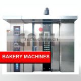 64 Trays Electric/Gas/Diesel Bread Baking Oven,Rotary Bakery Oven Machines                                                                         Quality Choice