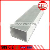 Aluminium alloy pipe prices per meter,aluminum pipe specifications and size for railing handrail and furniture making