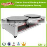 Commercial Non Stick Gas Crepe Maker Griddle/Roti Maker GM-2