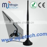 2.4ghz 7 dbi wifi booster antenna for wireless lan card + magnetic