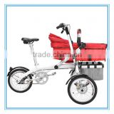 2016 Mother Baby Twin Stroller Electric Bicycle