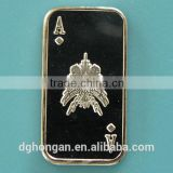 A24 1 Gram 999 Fine Silver Ace of Diamonds Bar