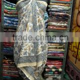 Indian Handmade Cotton Sexy Girls Bikini Cover Up Sarong Beach Wear Pareo Swimwear Swimsuit Wrap