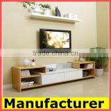 wholesale New Modern wooden TV stand and tv racks designs