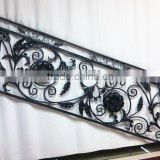 2015 Top-selling modern outdoor wrought iron stair railing                                                                         Quality Choice