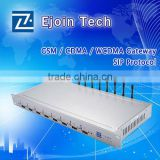 gsm mobile phone to ip gateway 8 sim card