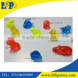 TPR sticky small animal fish dog monkey squirrel cat gold fish foad octopus pig crocodile tortoise toys for sole