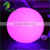 Custome PVC Self Inflating Balloons / Inflatable LED Balloon With Radio Controlled Machine